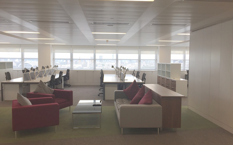 Open Plan Seating Area